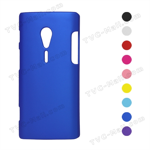 Rubberized Plastic Hard Case for Sony Xperia Ion LT28i LT28at