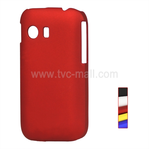 Rubberized Hard Plastic Case for Samsung Galaxy Y S5360