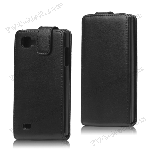 Magnetic Leather Flip Case for LG Optimus 4X HD P880
