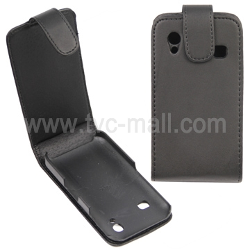 Vertical Magnetic Flip Leather Case for Samsung Galaxy Ace S5830