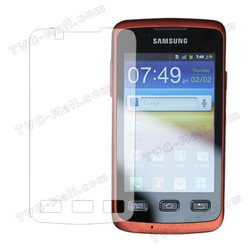 Clear LCD Screen Protector Film for Samsung S5690 Galaxy Xcover