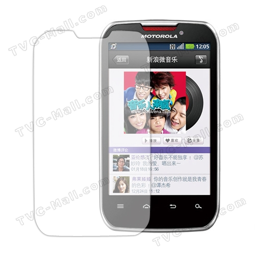 LCD Screen Guard Film for Motorola Motosmart Mix XT550