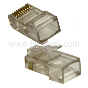 RJ45 RJ-45 CAT5 CAT5E 8P8C Modular Plug Network Connector(1000 PCS)