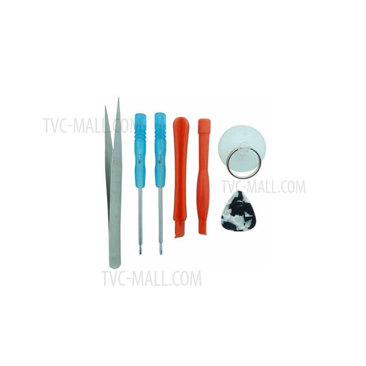 iPhone 4G Repair Kits Opening Tool Set - 7 Pieces (Clamshell Package)