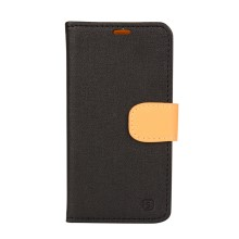 Wallet Leather Stand Case for Lenovo S660 - Black