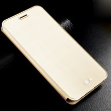 MOFI Vintage Classical Leather Stand Case for Meizu MX5 - Champagne Gold