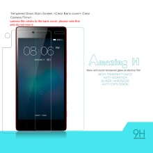NILLKIN Amazing H Tempered Glass Screen Protector for Lenovo Vibe Shot Max with Back Film