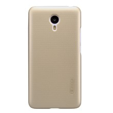 NILLKIN Super Frosted Shield Plastic Case for Meizu m2 note / Blue Charm - Gold