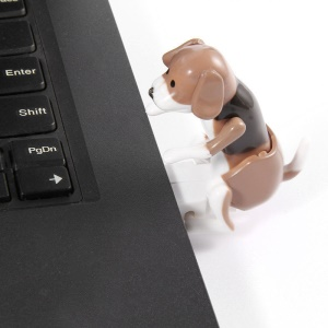8GB Cute Funny Humping Dog USB Flash Drive - Coffee