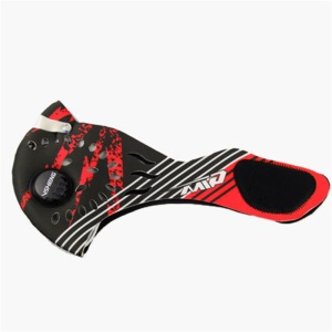 Face Mask Half Anti Dust Pollution Filter Sport Cycling Bicycle Bike Face Shield - Red/Black