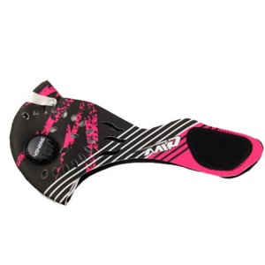 Face Mask Half Anti Dust Pollution Filter Sport Cycling Bicycle Bike Face Shield - Pink/Black