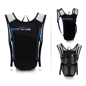 LOCAL LION Lightweight 1.5L Bladder Bag Hydration Backpack for Hiking Riding Camping Climbing - Blue