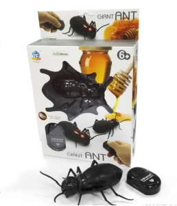 Funny Simulation Infrared RC Remote Control Scary Insect Toy - Ant Pattern