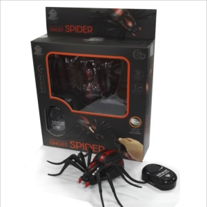 Funny Simulation Infrared RC Remote Control Insect Toy Halloween Gift - Spider