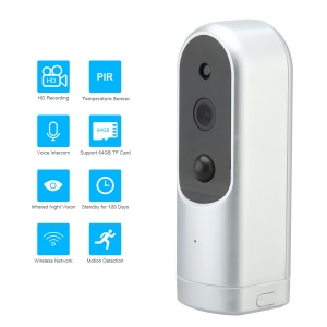HIKE 1MP Motion Detection Wireless WiFi IP Camera Home Security Camera with Infrared Night Vision