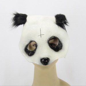Tier Panda Latex Maske Halloween Kostüm Party Cosplay