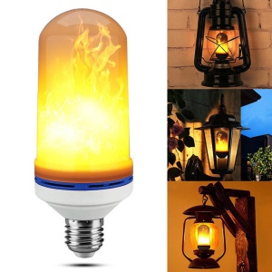 Waterproof LED Flame Light Bulb Flickering Fire Effect Atmosphere Decorative Light - E27 Socket