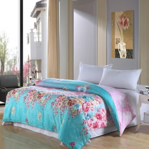 100% Cotton Bedding Twill Comforter Cover Quilt Duvet Cover, Size: 180 x 200cm - Flower Blossom