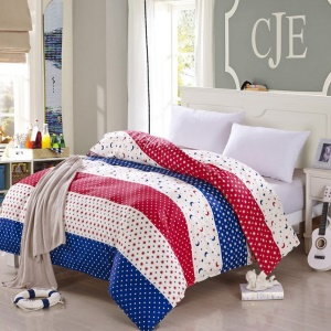 100% Cotton Home Twill Comforter Cover Quilt Duvet Cover, Size: 180 x 200cm - Moon, Stars and Dots