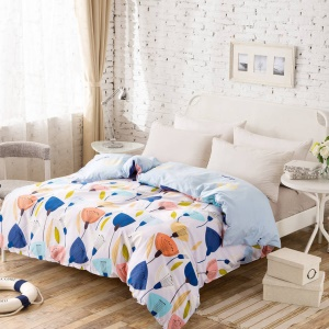 100% Cotton Bedding Comforter Cover Quilt Cover, Size: 180 x 220cm - Lotus
