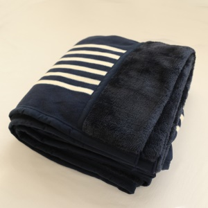 Dark Blue Stripes Pattern