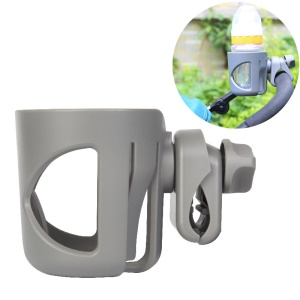 Grey - Stroller Feeding-bottle Cup Holder Cup Rack Bicycle Bottle Holder Baby Carriage Accessory