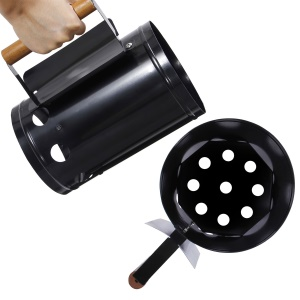 Portable Barbeque BBQ Chimney Charcoal Starter Fire Starter