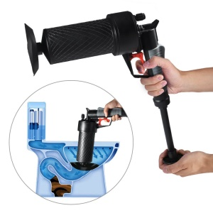 High Pressure Kitchen Toilet Drain Pipes Sinks Air Power Blaster Cleaner Plunger