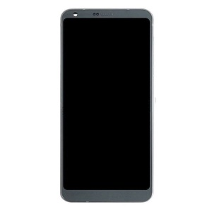 LCD Screen and Digitizer Assembly + Frame Replacement for LG G6 (Non-OEM Screen Glass Lens, OEM Other Parts) - Grey