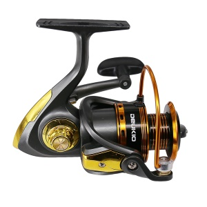JS6000 10BB 5.1:1 Gear Ratio Metal Spool Fishing Reel with Folding Arm