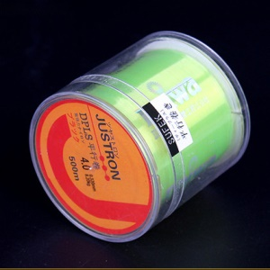 LMAIDE 500m Non-abrasion Nylon Fishing Line - Green / 0.6