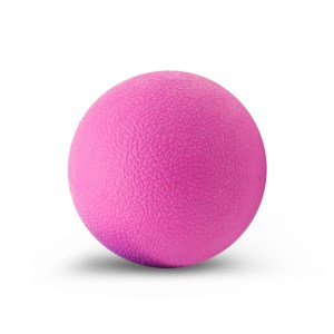TPE Fitness Massage Ball Body Massage Training Hockey Ball - Pink