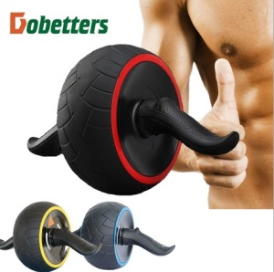 Fitness Speed Training Ab Roller Abdominal Exercise Rebound Wheel Workout Gym - Red