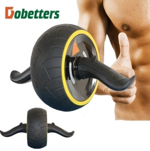 Fitness Speed Training Ab Roller Abdominal Exercise Rebound Wheel Workout Gym - Yellow
