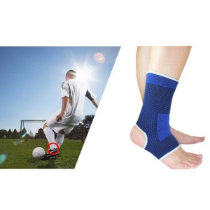 1PC Ankle Support Protect Sock Sport Ankle Guard Basketball Fitness Equipment - Random Color