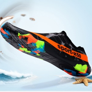 Unisex Sneakers Outdoor Beach Swimming Diving Quick Dry Anti-slip Shoes - Size: 42