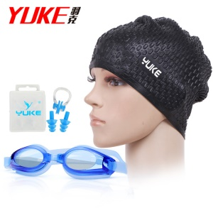 Black Cap / Blue Goggle