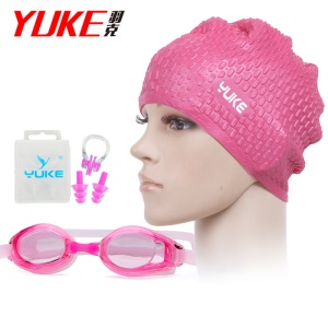 Rose Red Cap / Pink Goggle