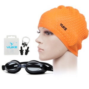 Orange Cap / Black Goggle