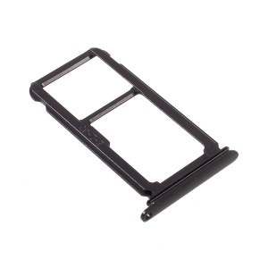 OEM tarjeta SIM Tray Holder Slot parte de Huawei P10 Plus - Negro