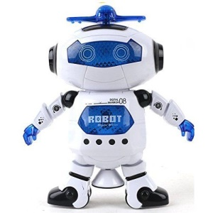 Fun Dancing Robert Electronic Toy With Music Light Kids Children Toy Gift