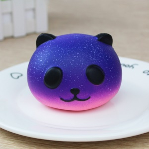 Lovely Squishy Slow Rising Soft Squishy Charm Toy for Stress Relief - Cosmic Panda