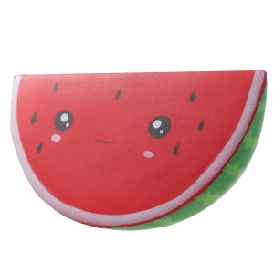 Watermelon Pattern PU Foam Decompression Squeeze Toy Pressure Reduced Toy