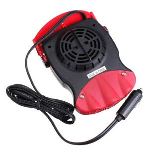 12V ABS Car Truck Auto Heater Windshield Defroster Window Demister Cooling Fan