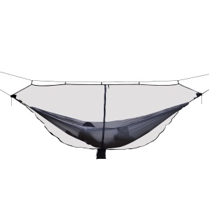 Ultralight Hammock Mosquito Net for Outdoor Hiking Backpacking Camping - Black
