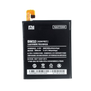 3000mAh OEM Li-polymer Battery Repair Part for Xiaomi Mi 4