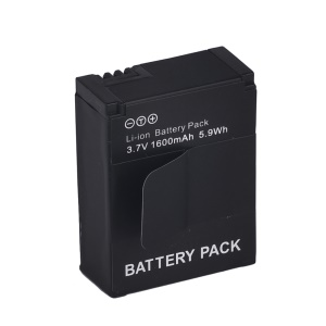 1600mAh AHDBT-301/201 Li-ion Battery Replacement for GoPro Hero3 / Hero3+