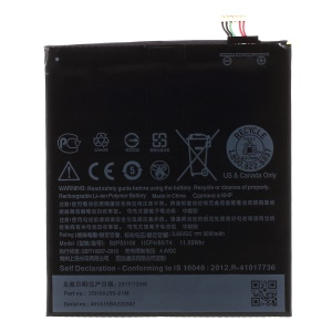 3000mAh OEM Li-polymer Battery Replacement for HTC Desire 10 Pro (B2PS5100)