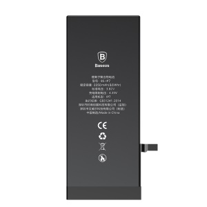 BASEUS 3.82V 2250mAh Li-polymer Battery Replacement for iPhone 7 (High-capacity Version)