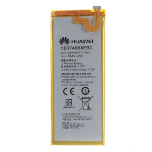 OEM HB3748B8EBC 3000mAh Battery for Huawei Ascend G7